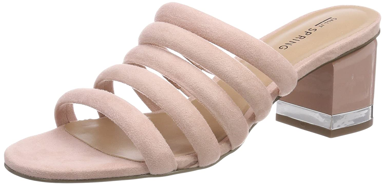 Call It Spring EU Damen Etoclya Peeptoe Sandalen, Pink (Cameo Rose), 40 EU