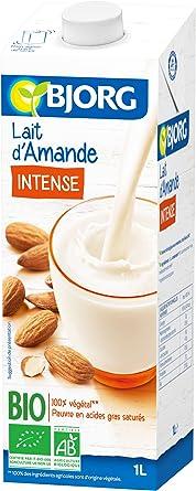 BJORG Leche De Almendras Intense Bio 1 Llot 6: Amazon.es: Alimentación y bebidas
