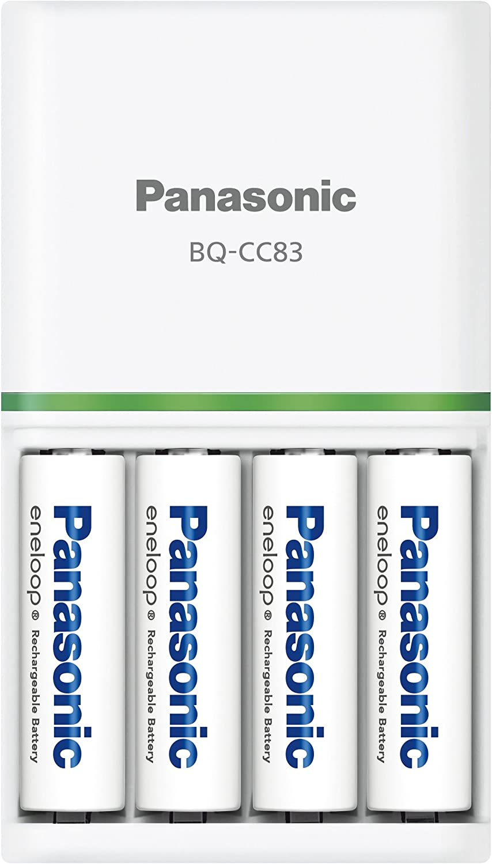 Panasonic(パナソニック)『単3形 エネループ 4本付充電器セット(K-KJ83MCC40)』