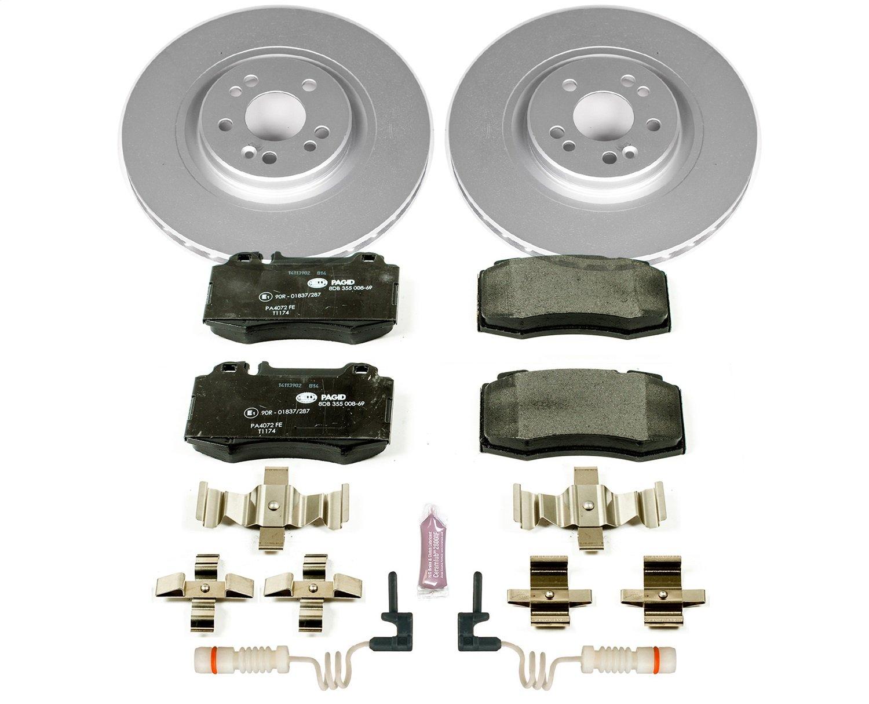 Power Stop ESK5236 Front Euro-Stop Brake Kit