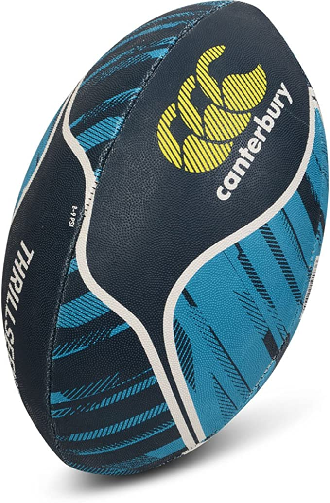 Canterbury Mens & Womens Thrillseeker Rubber Training Rugby Ball ...