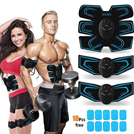 6 Pack Abs Abdominal Toning Toner Fitness Workout Stomach Muscle Gym Belt Hot Easy To Repair Ab Rollers Fitness Equipments