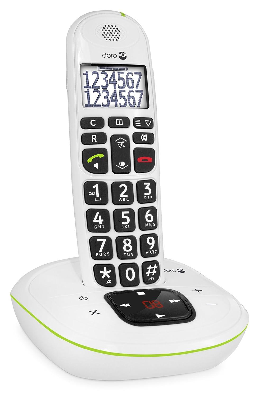 Comparer DORO PHONEEASY 115 BLANC SOLO AVEC REPONDEUR