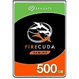 PCおよびPS4用Seagate 500 GB FireCudaゲーミングSSHD 2.5インチ内蔵ソリッドステートハイブリッドドライブ(モデル:ST500LXZ25 / LX025)