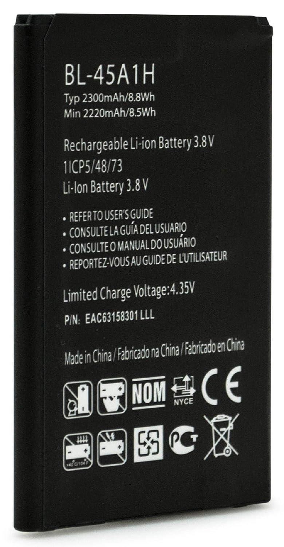 Replacement Battery for LG K10 Premier LTE L62VL L61AL NET10 Straight Talk TRACFONE BL-45A1H 2300 MAH