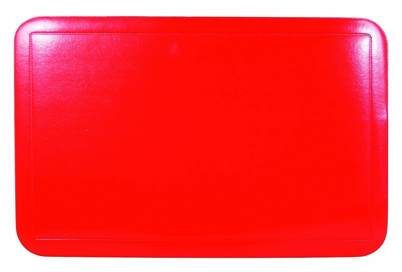 Quid 2211019 Essential - Juego de manteles (plástico, 43 x 28 cm, 6 unidades), color azul
