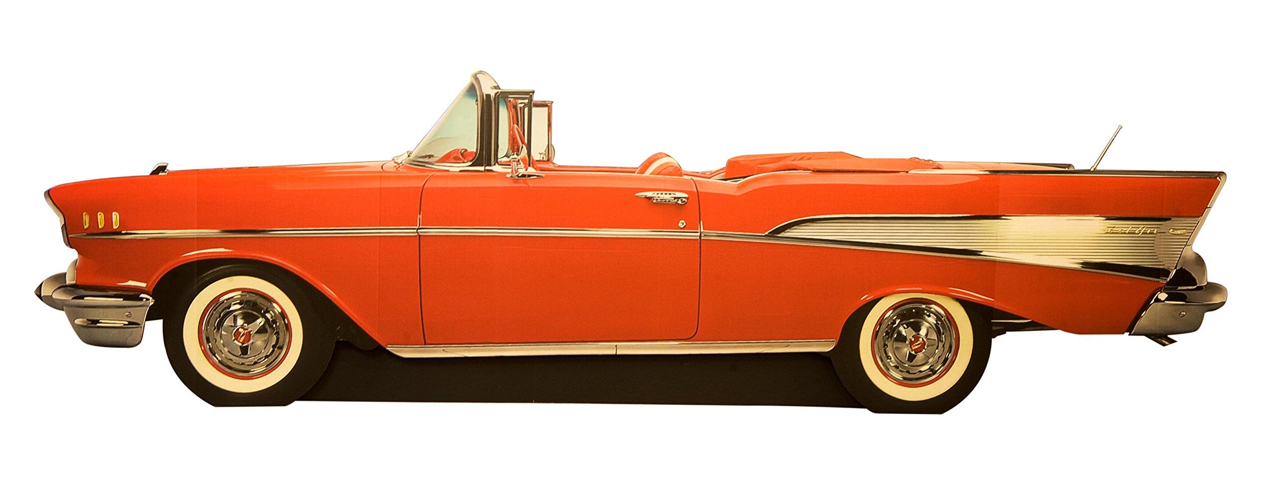 TCDesignerProducts Good Times Bel Air Car Kit Cardboard Cutout - 4' high, 13' 6'' wide, and 9'' deep