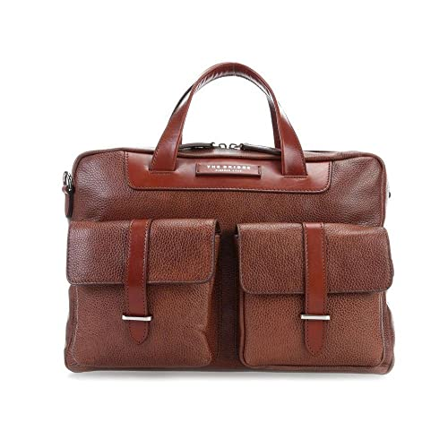 6c8a1f93fc The Bridge Jazz business bag brown: Amazon.it: Scarpe e borse