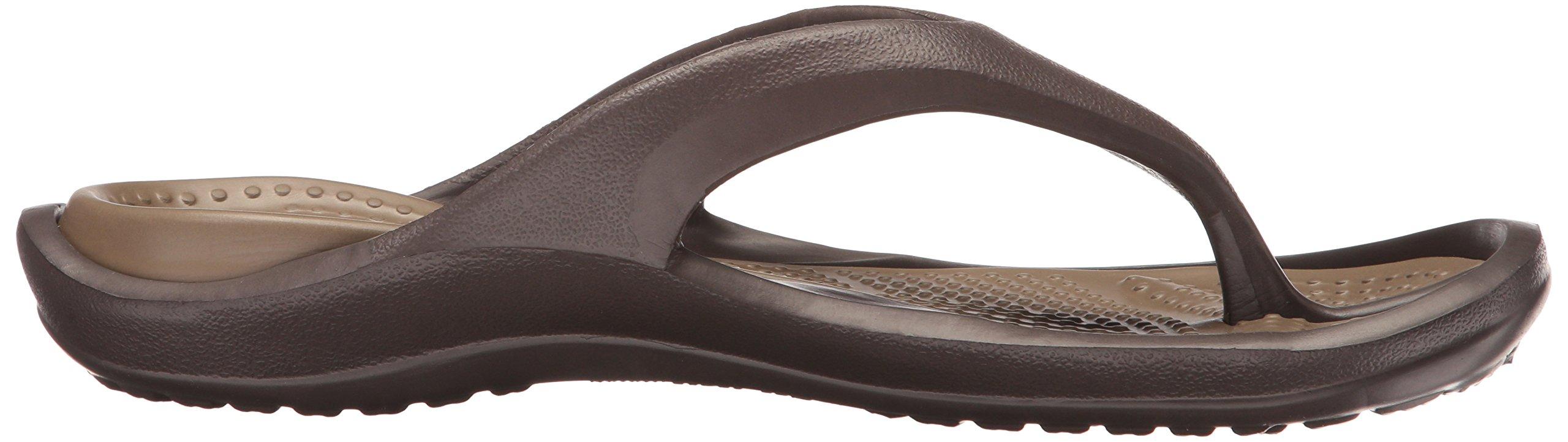 Crocs Athens Flip Flop, Espresso/Walnut, 10 US Men / 12 US Women by Crocs (Image #7)