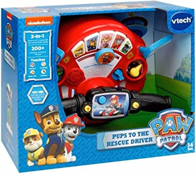 Paw Patrol Pups To The Rescue Driver Amazon Co Uk Toys Games
