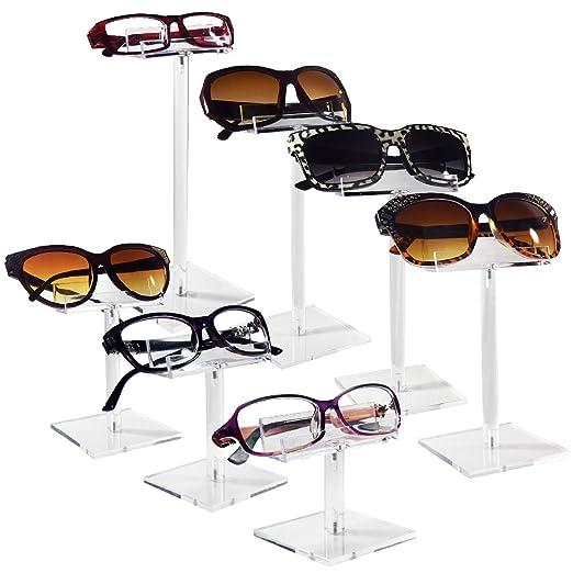 Mooca - Soporte para Gafas de Sol (6 Unidades, acrílico ...