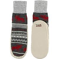 Lazy One Knitted Slippers, Cozy Slipper Socks