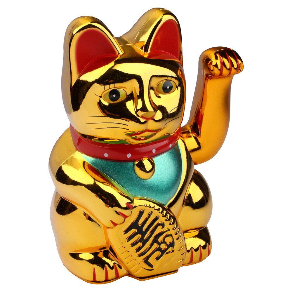 Winkekatze Bedeutung s o winkekatze gold winke katze chinesische glücks katze glückskatze