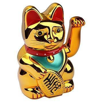 S/o 2 unidades gato de oro winke gato chinos gato de la ...
