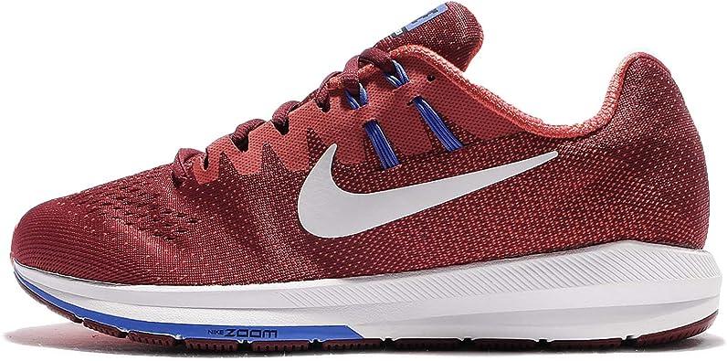 Nike Air Zoom Structure 20, Zapatillas de Running para Hombre, Rojo (Team Red/MAX Orange/Medium Blue/White), 45 EU: Amazon.es: Zapatos y complementos