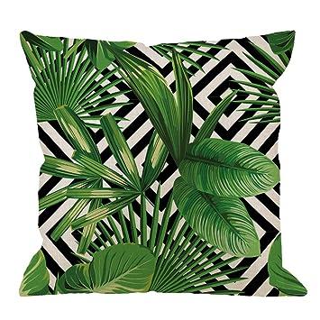 Amazon.com: HGOD Designs Funda de almohada Llama, cita ...