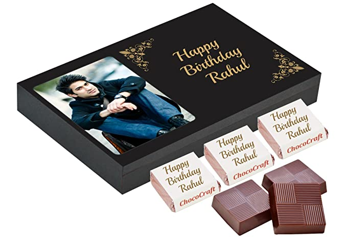 Chococraft 9 Chocolates In Personalised Box (9 Candies)