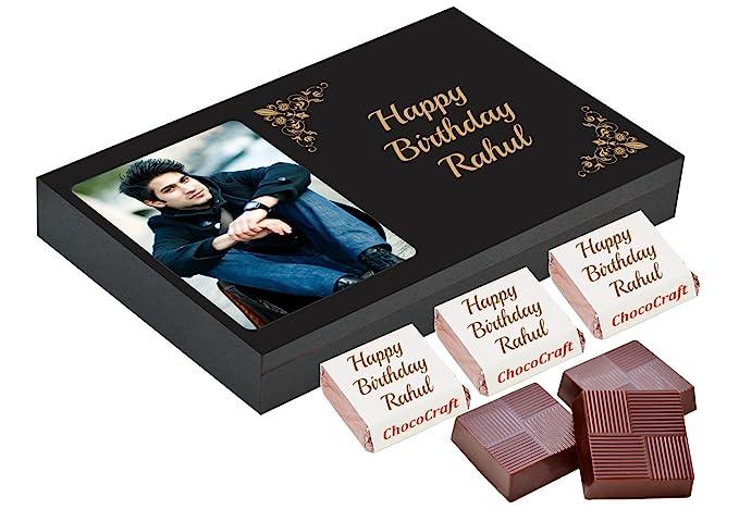 da11123da112b Chococraft Personalised Birthday Chocolates Gift Box (12 Candies  14 Gms)