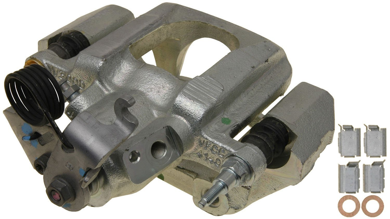 Transparent Hose /& Stainless Banjos Pro Braking PBR4799-CLR-SIL Rear Braided Brake Line