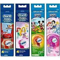 Oral-B 欧乐B阶段为孩子更换电动牙刷头以迪士尼角色为主角 (图案随机)