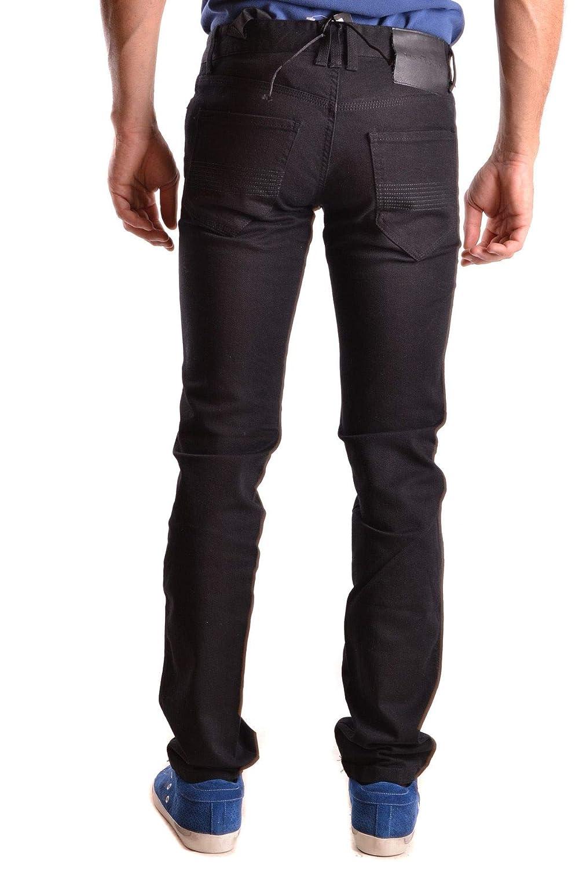 Richmond Mens MCBI27247 Black Cotton Jeans