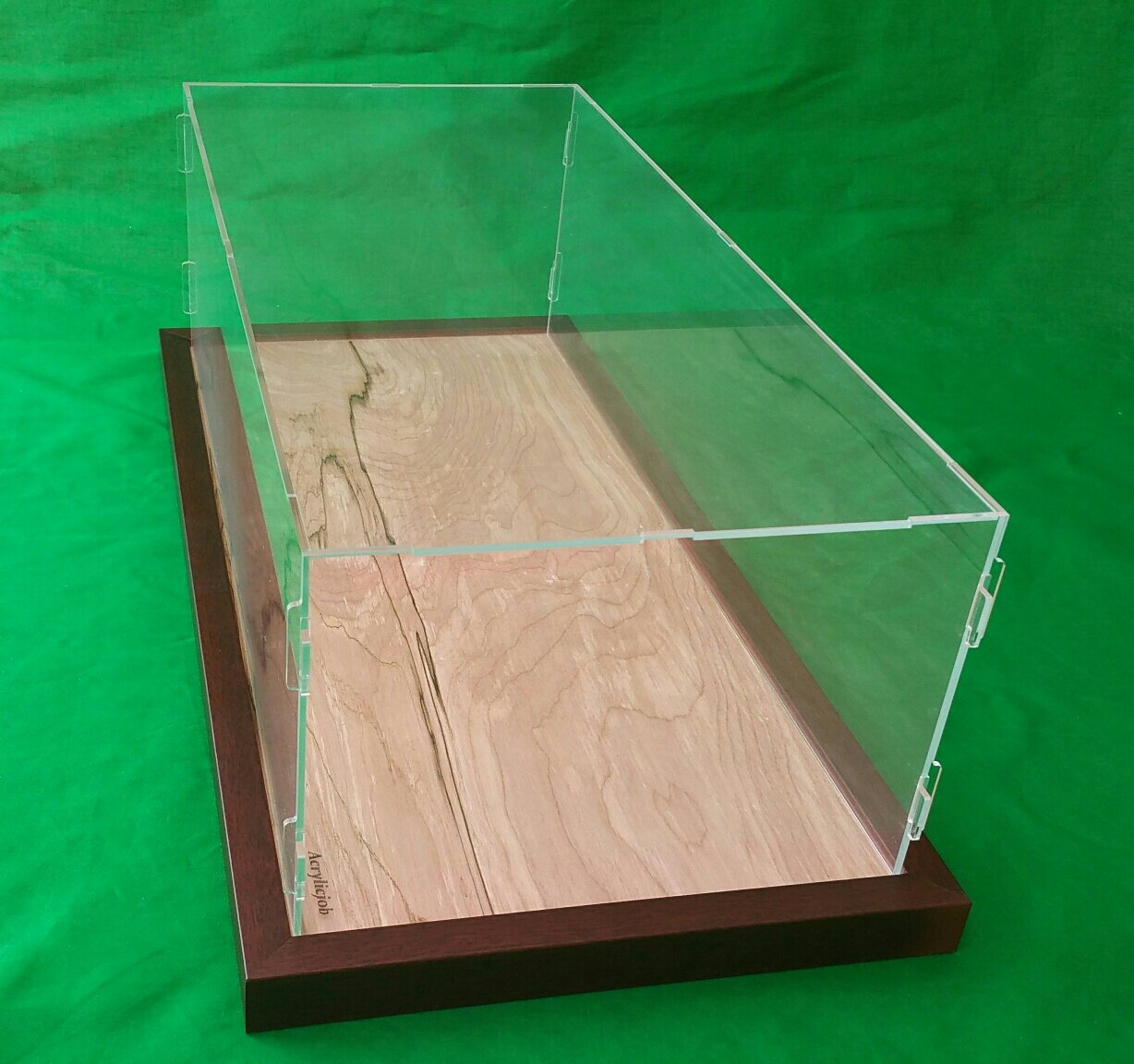 25''L x 12''W x 7''H Acrylic Display Case for 1:8 scale Pocher Testarossa and model cars