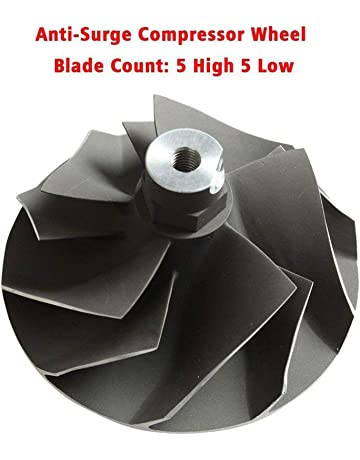 BLACKHORSE-RACING Powerstroke 7.3L Upgraded TP38 GTP38 Turbo Compressor Wicked Wheel for Ford