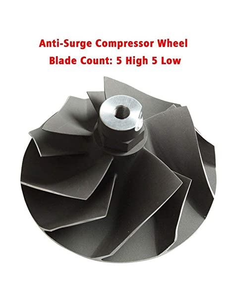 Amazon.com: BLACKHORSE-RACING Powerstroke 7.3L Upgraded TP38 GTP38 Turbo Compressor Wicked Wheel for Ford: Automotive
