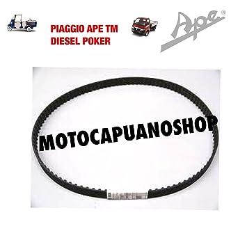 223106 correa distribución original Piaggio Ape TM 703 Diesel – Poker Gasolina