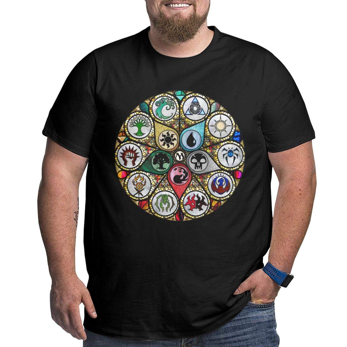 Play Games Fathers Day Big S Magic The Mtg Gathering Tshirt Best Dad Gifts Shirt
