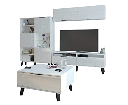 wholesale dealer 8c850 7c3df Living Room Furniture Set, TV Wall Unit