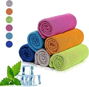 Amazon.com: xzsun toalla de refrigeración, refrigeración ...