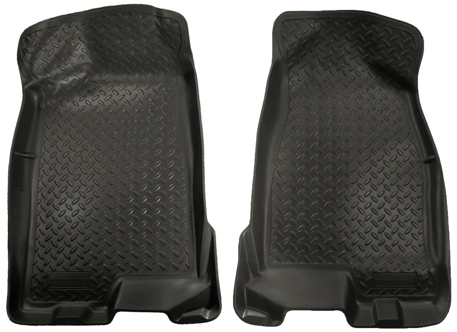 Husky Liners Front Floor Liners Fits 04-12 Colorado//Canyon Crew Cab