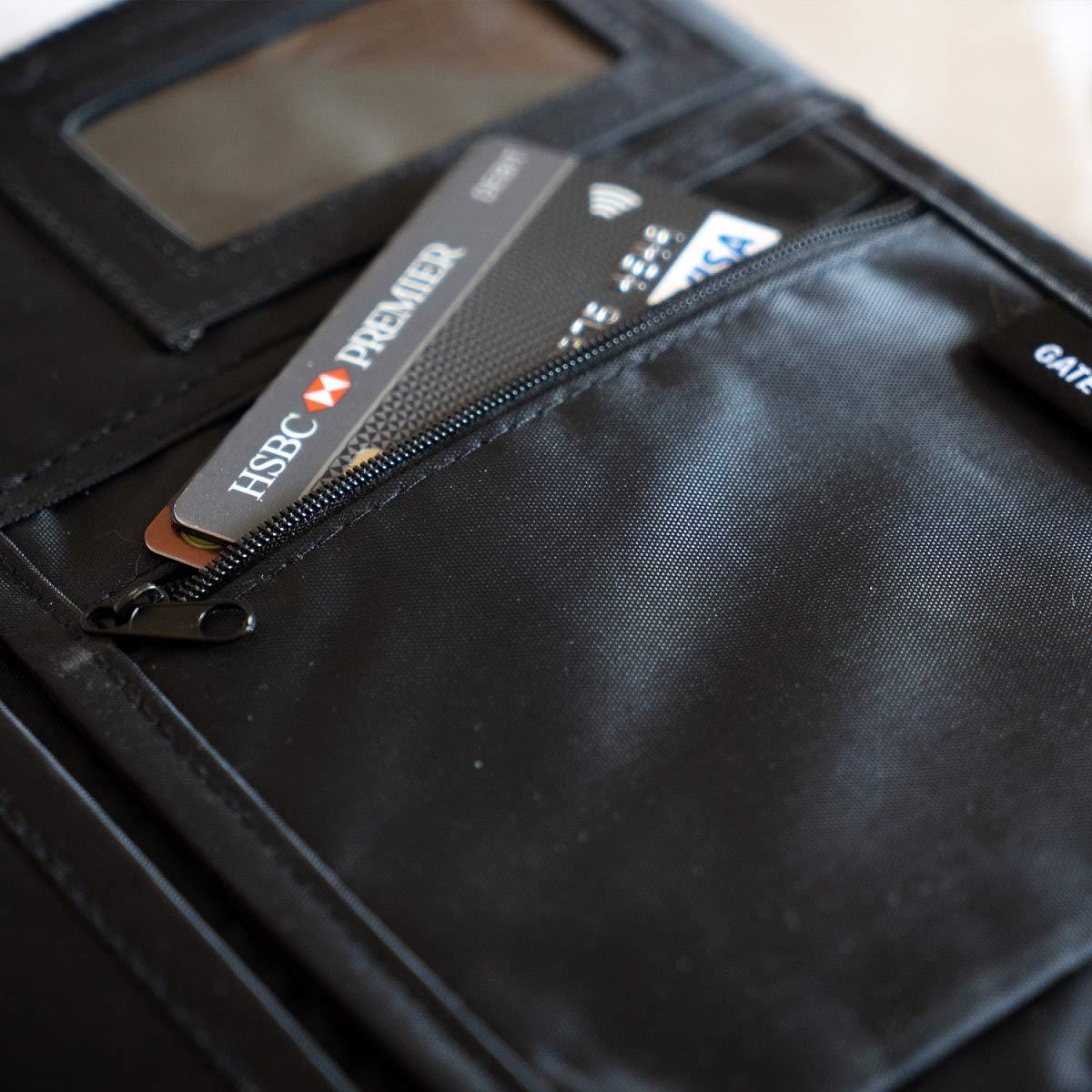 Gate8 Organiseur de Bagage Micro Case de Chemise G9-Shi Noir
