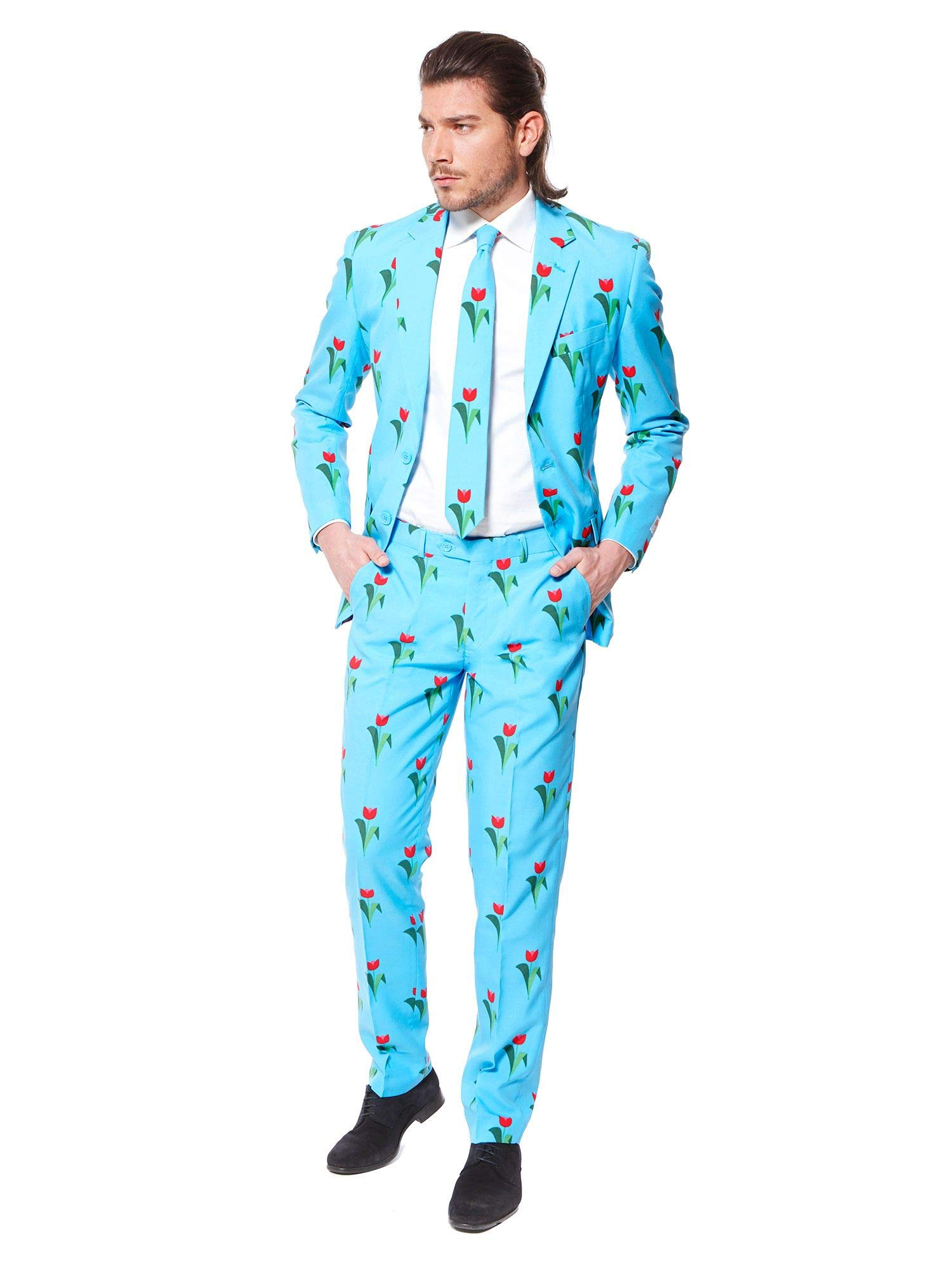 OppoSuits Funny Everyday Suits for Men Comes with Jacket, Pants and Tie in Funny Designs by OppoSuits (Image #3)