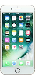 Apple iPhone 7 Plus, 32GB, Gold - Fully Unlocked (Renewed)
