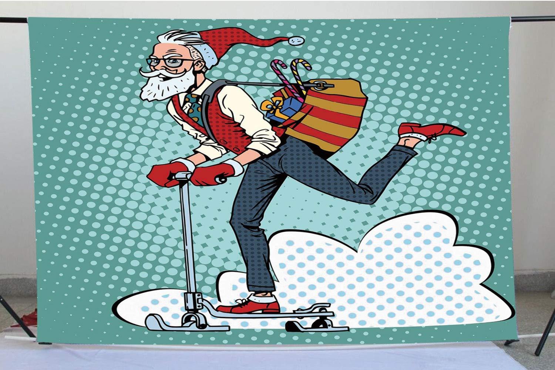 Telones de Fondo para fotografía de Navidad, diseño de Papá Noel ...