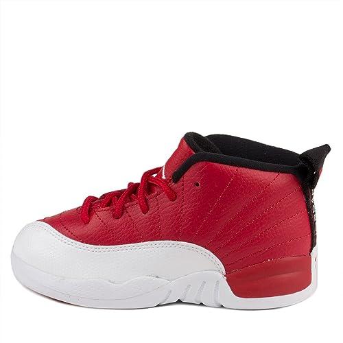 NIKE - Jordan 12 Retro Botas Rojas Varones: Amazon.es: Zapatos y ...
