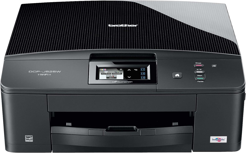 Brother - DCP-J525W- Impresora multifunción de inyección de tinta ...