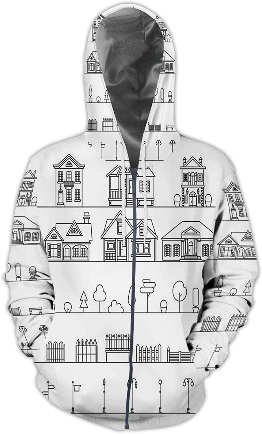 C COABALLA Bathroom Planning Design USA,Mens Print 3D Fashion Hoodies Sweatshirts Bathroom S