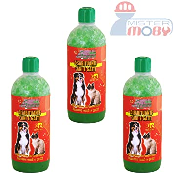DISUASIVO REPELENTE AHUYENTA ANTI PERROS GATOS NATURAL GEL (+ DURACION) 3x 1 LT: Amazon.es: Jardín