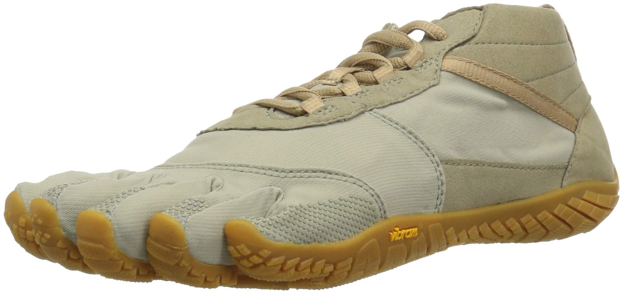 Vibram Women's V-Trek Khaki/Gum Trail Running Shoe 8-8.5 M B EU (40 EU/8-8.5 US US)