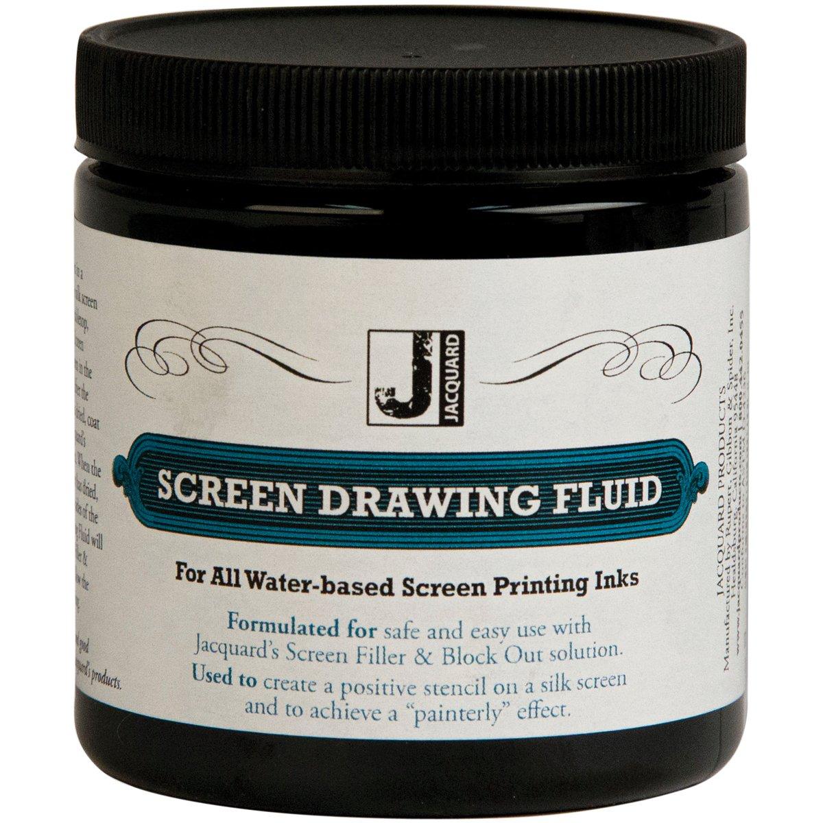 Jacquard Screen Printing Drawing Fluid 8 Ounces JACQUARD/R G S