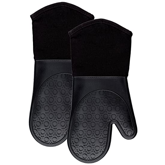 HOMWE Professional Silicone Oven Mitts Review