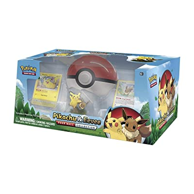 POKEMON Pikachu and Eevee Pokeball Collection: Toys & Games [5Bkhe0306184]