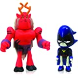"Teen Titans Go 2.75"" Raven with 2.75"" Trigon"