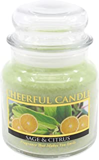 product image for A Cheerful Giver Sage and Citrus Jar Candle, 16-Ounce