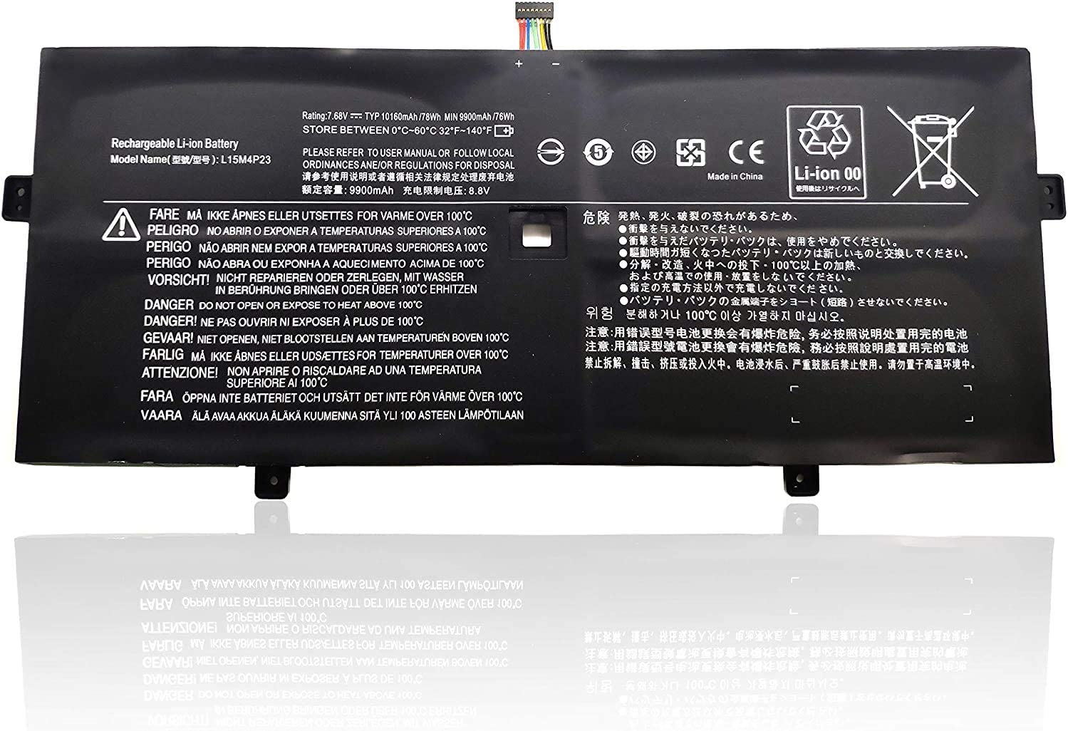 Binger New L15M4P23 Replacement Laptop Notebook Battery Compatible with Lenovo Yoga 910 Yoga 5 Pro Series T440P