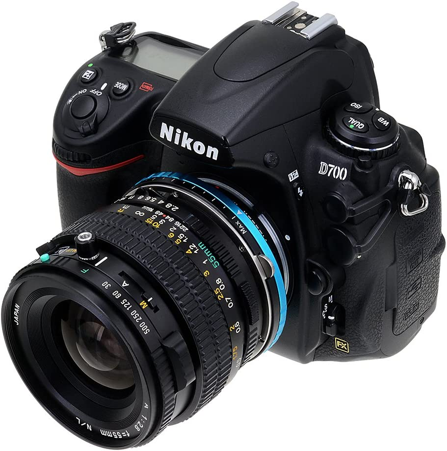 ND2-ND1000 Such as D7100, D800, D3 Vizelex ND Throttle Lens Mount Adapter from Fotodiox Pro Mount Cameras Mamiya 645 - with Built-in Variable ND Filter FX, DX M645 Lens to Nikon F-Mount