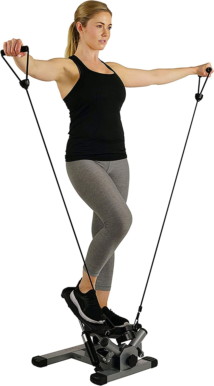 Sunny Health And Fitness Stepper Standing Women